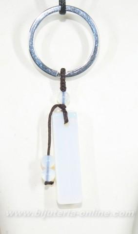 Висулка от лунен камък (ключодържател)