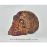 Фигурка череп яспис