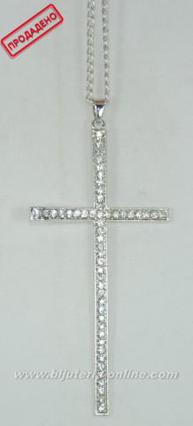 Бижутерия - висулка кръст