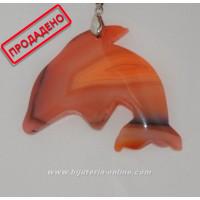 Висулка  риба от ахат