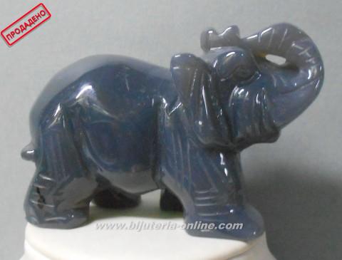 Фигурка слон от опал