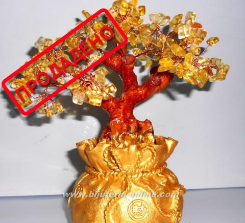 дърво с цитрин