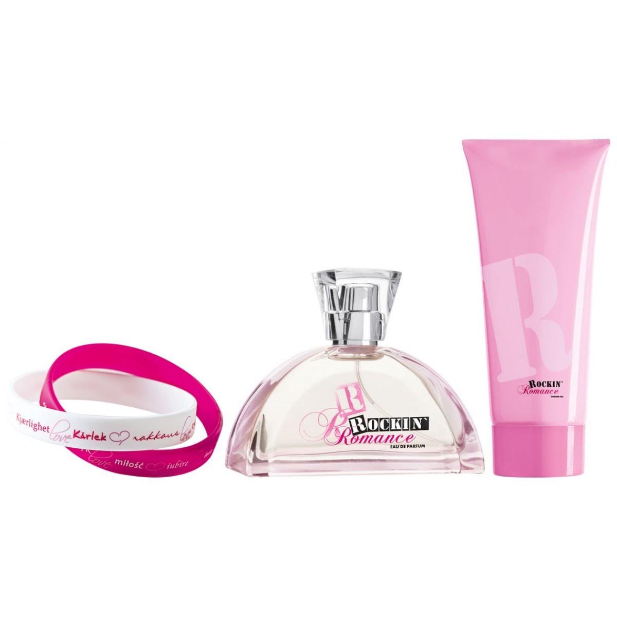 """Комплект парфюм и лосион за тяло """" Rockin Romance """""""