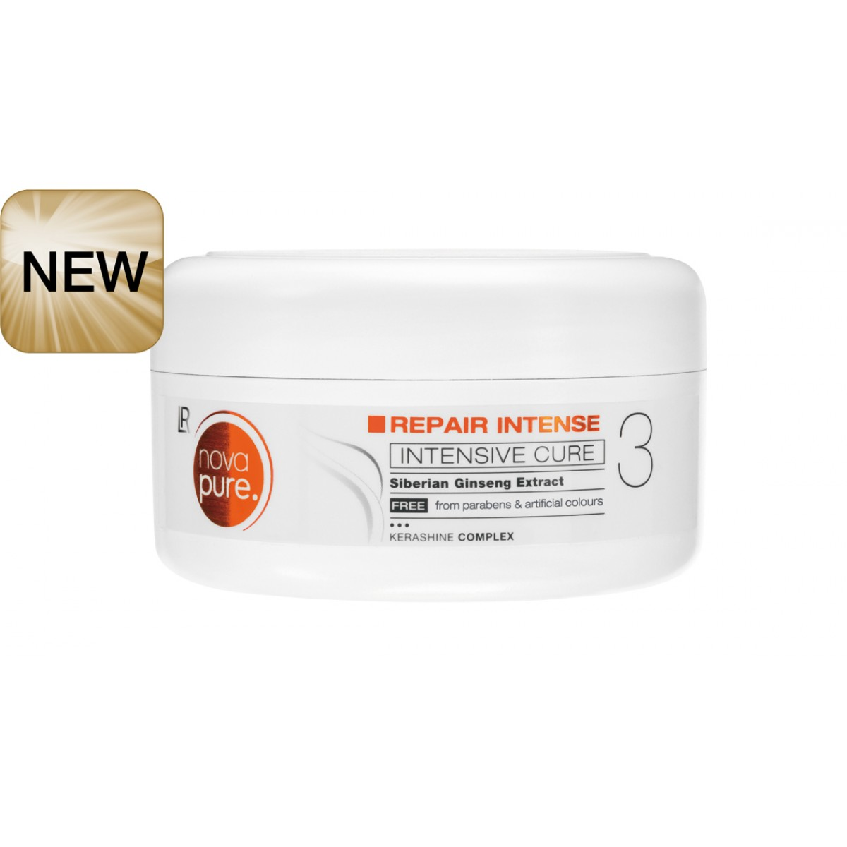 """Маска за интезивна грижа за увредена коса """"Nova Pure"""""""