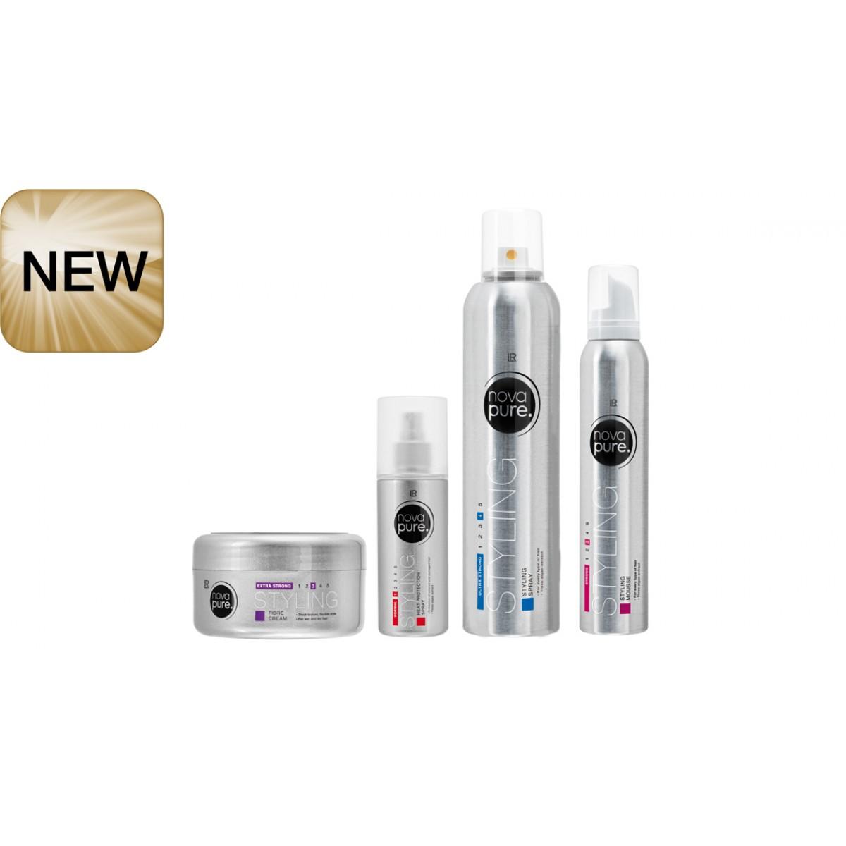"""Комплект стилизиращи продукти за коса """" Nova Pure """""""