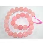Наниз от розов кварц 10mm