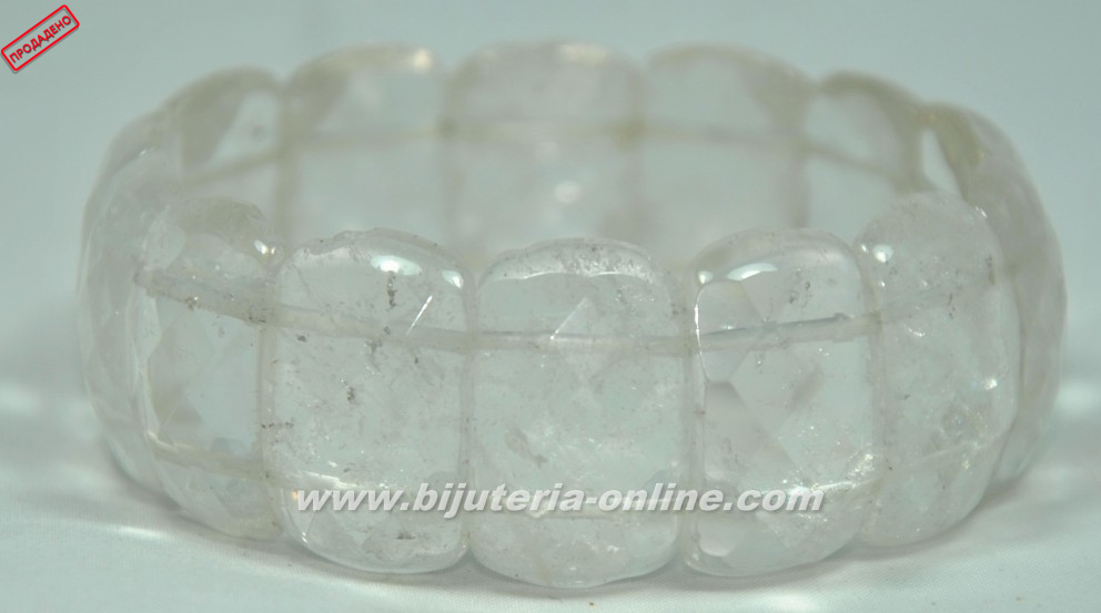 Гривна от планински кристал